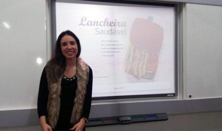 """Palestra com a Nutricionista Tatiana Pimentel"""" – Alimentação Saudável"""