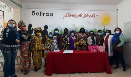 Centro de Educação São José- SP forma mais oito refugiados